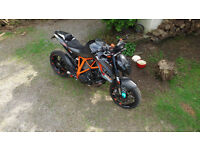 SUPERDUKE 1290 IN AS NEW CONDITION WITH £1000S SPENT ON UPGRADES