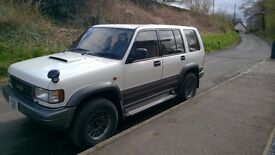 ISUZI BIGHORN IRMSCHER NEW TURBO, NEW ALTERNATOR, NEW SHOCKS, RECENT NEW HEAD (2 YR AGO), MOT FEB 18