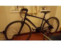 "Marin Fairfax SC2 2014 17"" hybrid bike, £240 or nearest sensible offer"