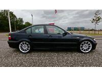 BMW 320D M-Sport: Carbon Black