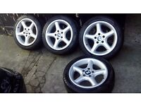 BMW 3 series, Z3 genuine alloys with very good condition