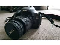 Canon 600D DSLR Camera + Lens