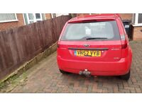 Ford Fiesta 52 plate 1.4 diesel very economical Bluetooth USB connection
