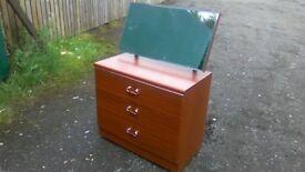 Small Alston furniture three drawer dressing