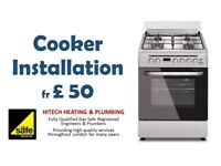 Gas / Electric Cooker, Gas Hob Installation, Boiler Repair, Gas Safety Certificate, GasSafe Engineer