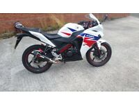 Honda CBR 125 Mint Condition With Gear Changer Display & Scorpion Exhaust