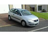 2007 VW POLO 1.2,LONG MOT, LOW MILES, 41,000, £1895