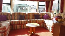 Static caravan for sale on 12 Month Holiday Park ** Pet Friendly Park**