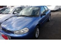 Ford Mondeo 1.8, Xreg,gen.60k.miles. lady owned 10yrs. s/ history,superb driver,new mot,hpi clear