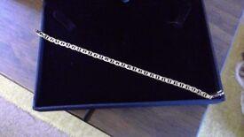 9ct gold anchor bracelet