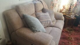 Second hand two seater recliner