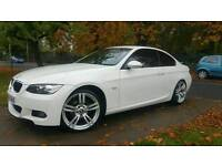 2008 BMW 320d M Sport Coupe Plus White