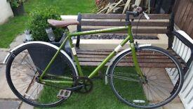 Schwinn fixed gear racing bike