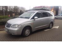 ssangyong rodius aut, semi manual 0ne owner