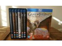Game of Thrones Blu Ray Boxset Season 1-6