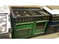 110cm dual fuel range mater cooker fully reconditioned