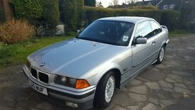 AMAZING FAST APPRECIATING CLASSIC 1993 E36 BMW 320 AUTO COUPE WITH GENUINE 50,000 MILES!!!!