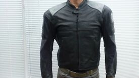 Arlen Ness Leather Jacket with built in armour.