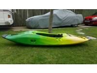 Kayak dagger,white water surf,