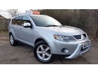 Mitsubishi Outlander 2.0 DI-D Warrior 5dr. New MOT On Delivery. 2 Owners