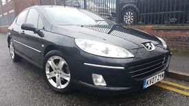 2007 Peugeot 407 2.0 HDi SE 4dr Saloon, Warranty & AA Breakdown Available, £1,395 p/x welcome
