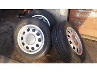 "VW Audi Seat Skoda 15"" alloy wheels (set of 6) 5x112"