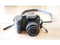 Panasonic Lumix G7 with 14-42mm lens - 4k camera