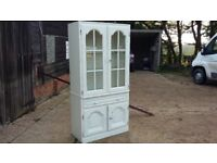 Large Painted Shabby Chic Dresser Glazed Kitchen