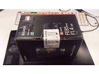 Sony G-MASTER FE 85mm f/1.4 GM - FACTORY REFURBISHED -