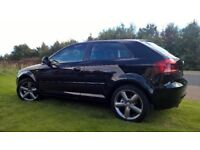 2009 AUDI A3 ONLY 50000 FULL SERVICE HISTORY WITH UPGRADE S-LINE INTERIOR & 12 MONTHS MOT