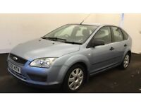 Ford Focus 1.6 Lx, blue 5dr, Long MOT, 101k mileage with FSH. Just serviced. £950