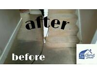 PROFESSIONAL CARPET & UPHOLSTERY, END OF TENANCY CLEANING. ALL LONDON!