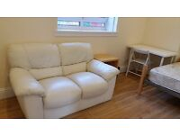 AVAILABLE !! - large double - two seater sofa - many direct buses to city centre, Herio Watt Uni