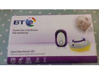 BT 200 Digital Baby Monitor