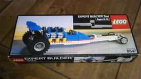 LEGO TECHNIC SET 8847-1 DRAGSTER Free P+P