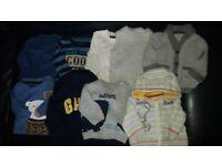 BABY BOY HUGE BUNDLE OF CLOTHES 0-3 MONTHS & NEWBORN – 87 ITEMS!!!