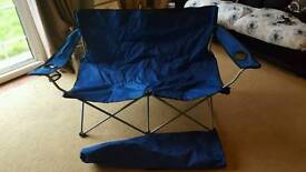 2 Seater Foldaway Sofa Chairs with Carry Bag