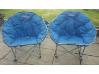 Moon Chairs x 2