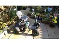 Powacaddy single seat golf buggy