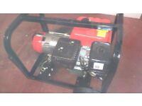 clarke portable petrol generator 2.4 KVA little used very good clean working