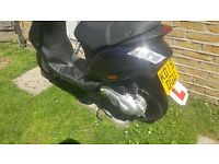 piaggio zip 50cc 2015 plate low miles-one owner!! full v5 reg