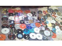 Bundle of 138 Music CDs + Free CD Wallets