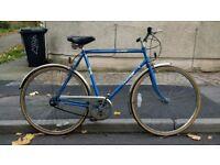 Men's Emmelle Alpine 22 inch hybrid city bike town 3 speed commuter * Bristol Upcycles * Retro