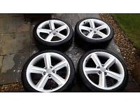 Genuine audi sline alloy wheels 18 inch