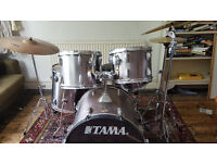 Ready to Rock - 5 Piece TAMA SWINGSTAR Drum Kit with all Accessories