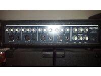 KUSTOM M4080 MIXER AMP AND SPEAKERS