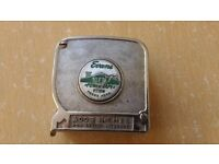 EVANS VINTAGE TAPE MEASURE PT10W ,made in Canada