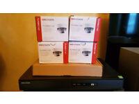 HIKVISION CCTV DVR 16CH-4TR TURBO HDTVI 1080P CHANNEL HD TVI HIGH DEFINITION+4CCTV CAMERAS -NEW-