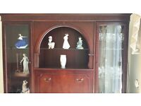 Sideboard unit with display cabinet & Corner unit for sale in good condition.