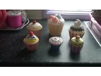 cupcake ornaments £1 each